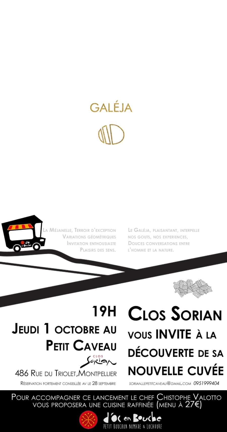 Lancement de «Galéja», la nouvelle cuvée du Clos Sorian