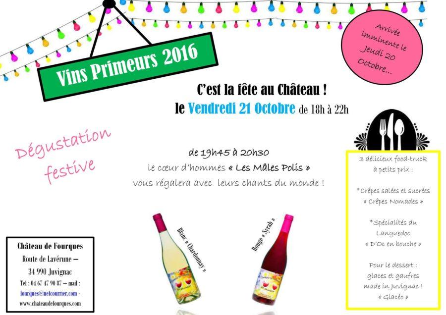 C'est la fête des vins primeurs au château de Fourques !