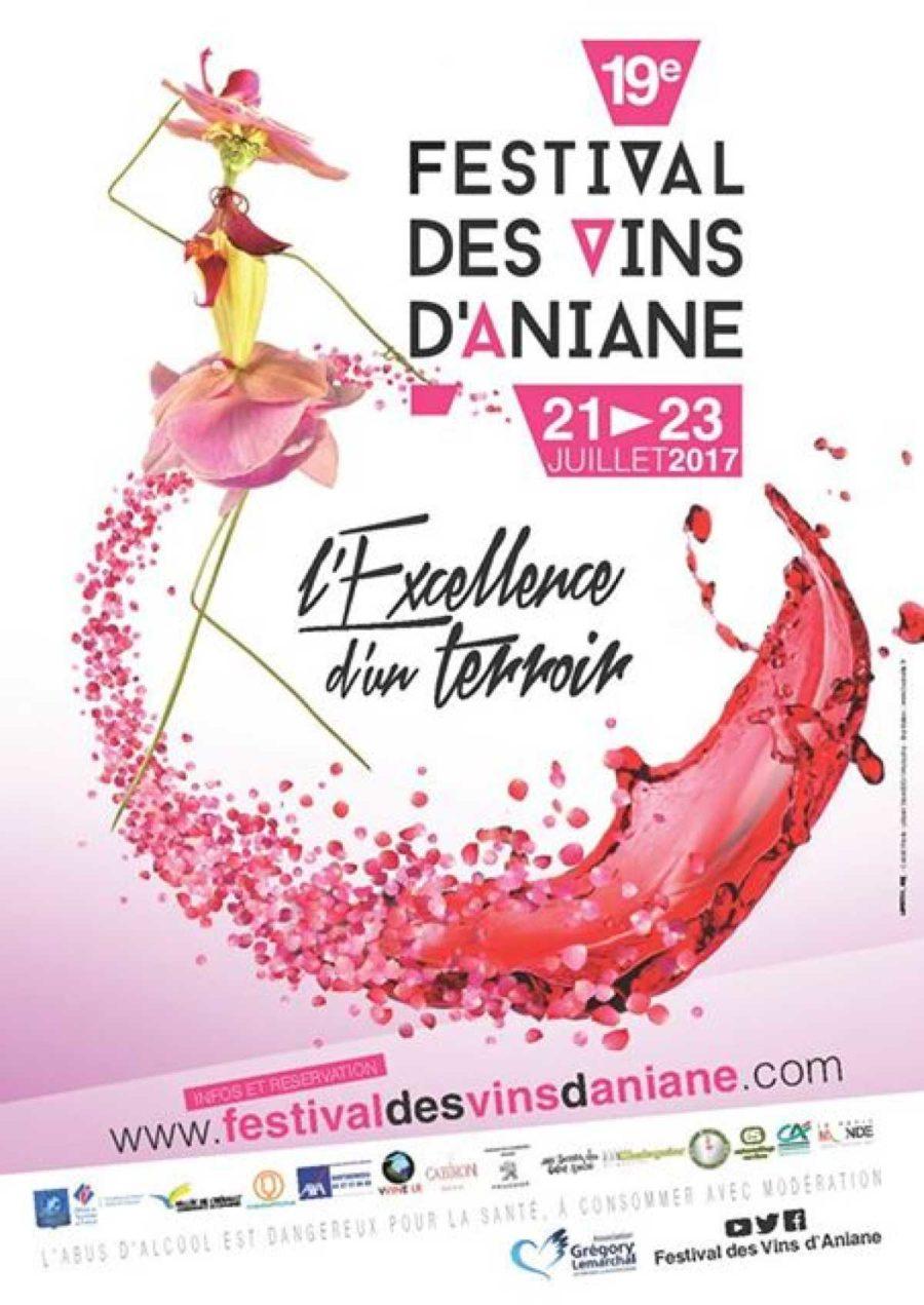 Festival des vins d'Aniane du 21 au 23 juillet 2017