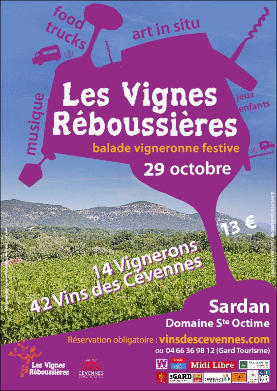 Les vignes réboussières, balade vigneronne décalée en Cévennes