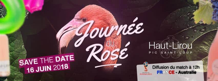 Journée du Rosé au Domaine Haut-Lirou le samedi 16 Juin 2018