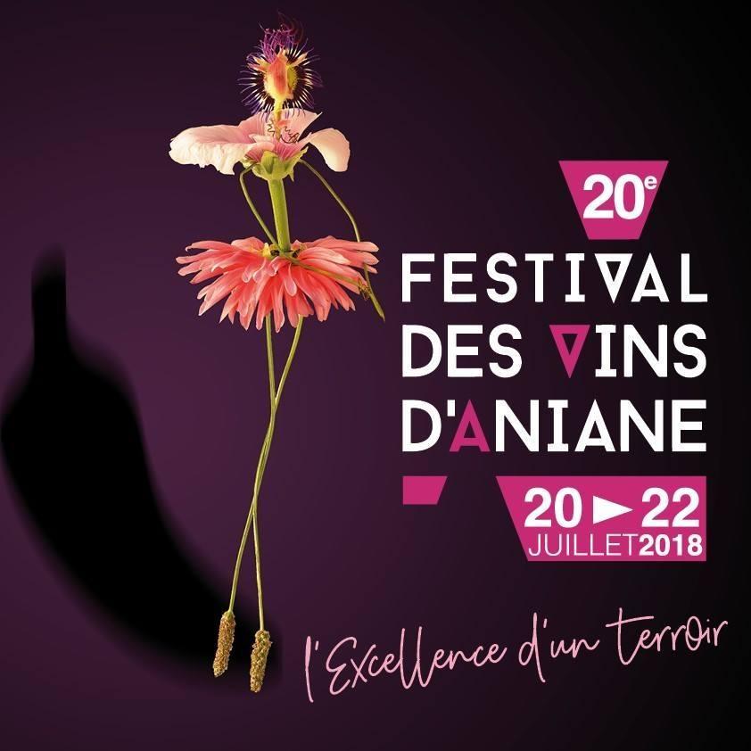 Festival des vins d'Aniane du 20 au 22 juillet 2018
