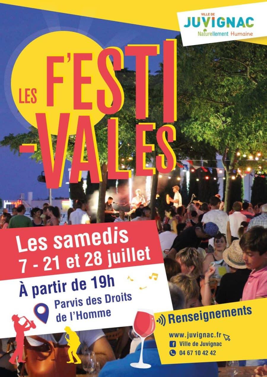 Les Festivales de Juvignac le samedi 7 juillet à partir de 19h