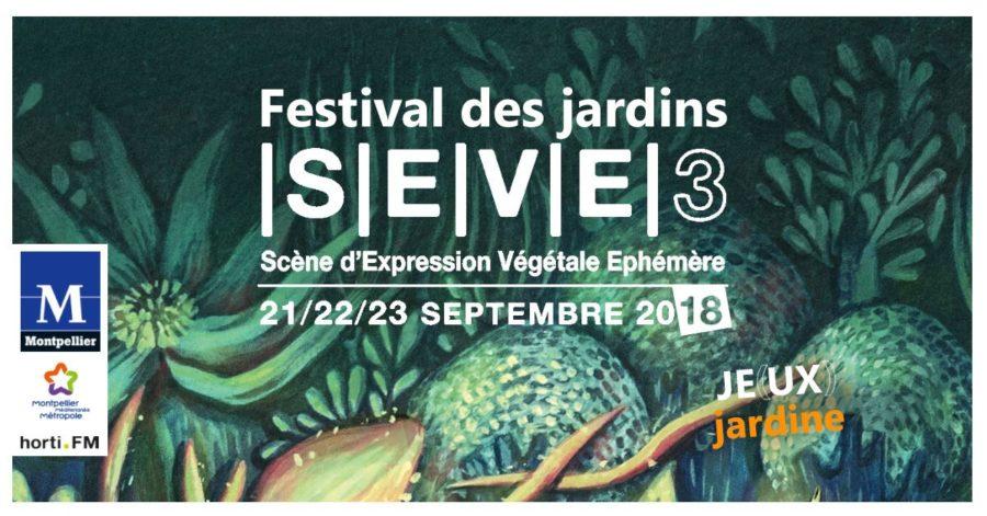 Festival des jardins SEVE 2018 au domaine de Grammont