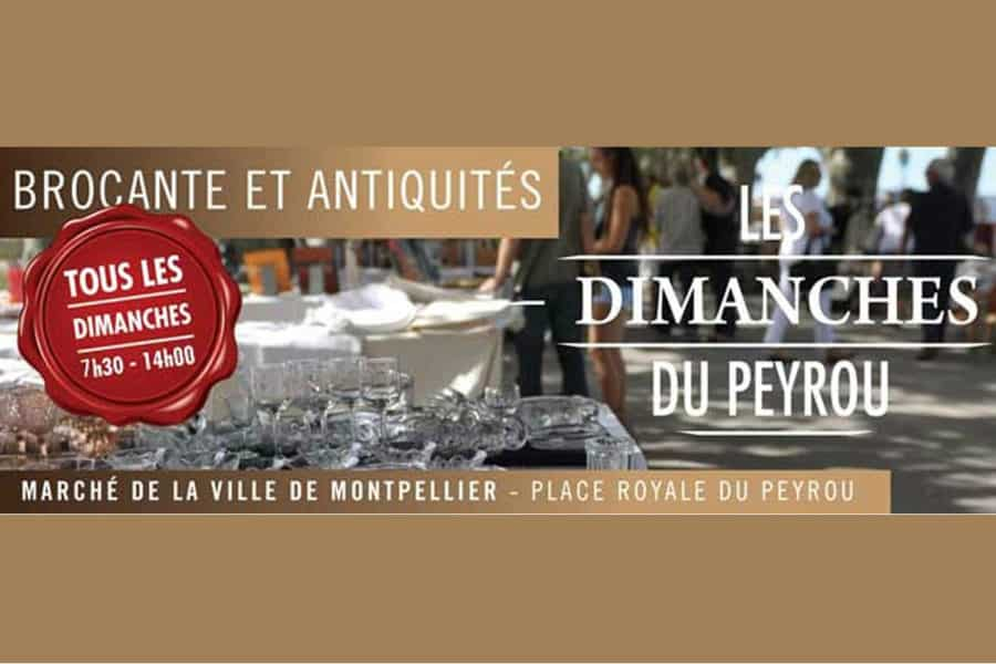 Les Dimanches du Peyrou le 20 janvier 2019 à Montpellier