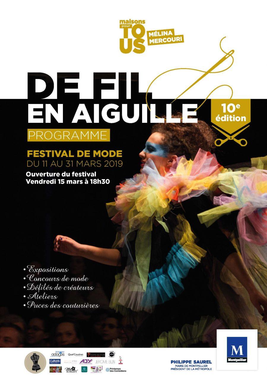 Festival De fil en aiguille 2019 à Montpellier