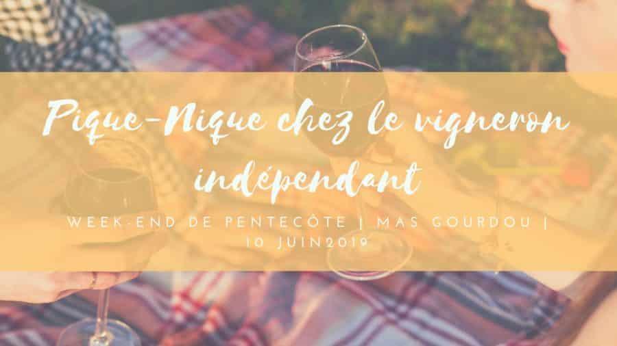 Pique-nique gourmand au Mas Gourdou en Pic Saint-Loup