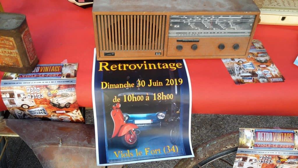 RétroVintage Viols-le-Fort 2019