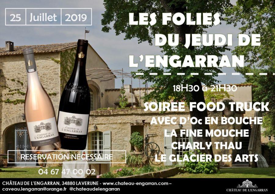 Les Folies du jeudi de l'Engarran à Lavérune le 25 juillet 2019
