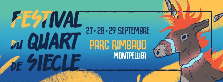 1ère édition du Festival Quart de siècle au Parc Rimbaud à Montpellier