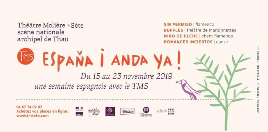 L'Espagne s'invite au Théâtre Molière de Sète à partir du 15 novembre