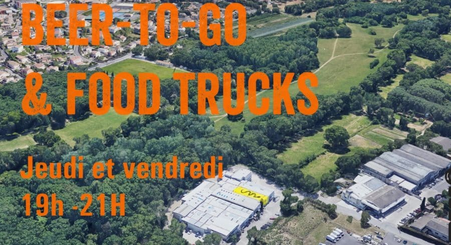 Beer-to-go & Food Truck à Lavérune le 22 mai
